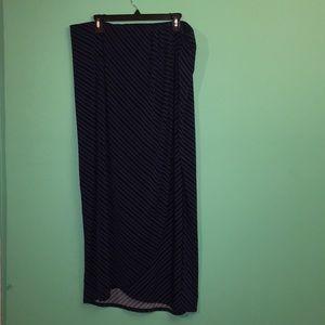Lane Bryant-Maxi Wrap Skirt sz. 18/20